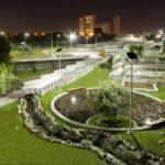 EG solar park lights in Puebla, Mexico