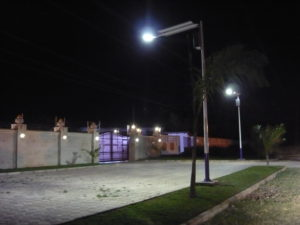 Equatorial solar lighting in Tanzania