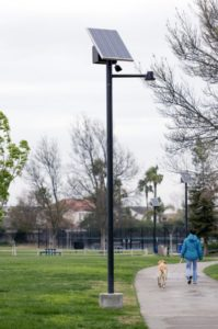 Sol Greenway solar park lights in Discovery Bay