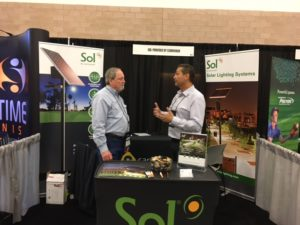 Sol exhibits at TRAPS 2017