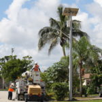 TP solar light in Florida