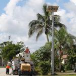 TP solar light in Florida
