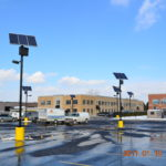 Solar parking lot lights in Washington