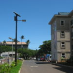 TP solar lighting installation for student housing