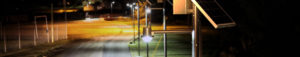 Pathways and parks solar lighting