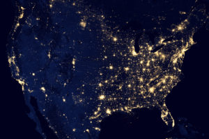 Light pollution USA