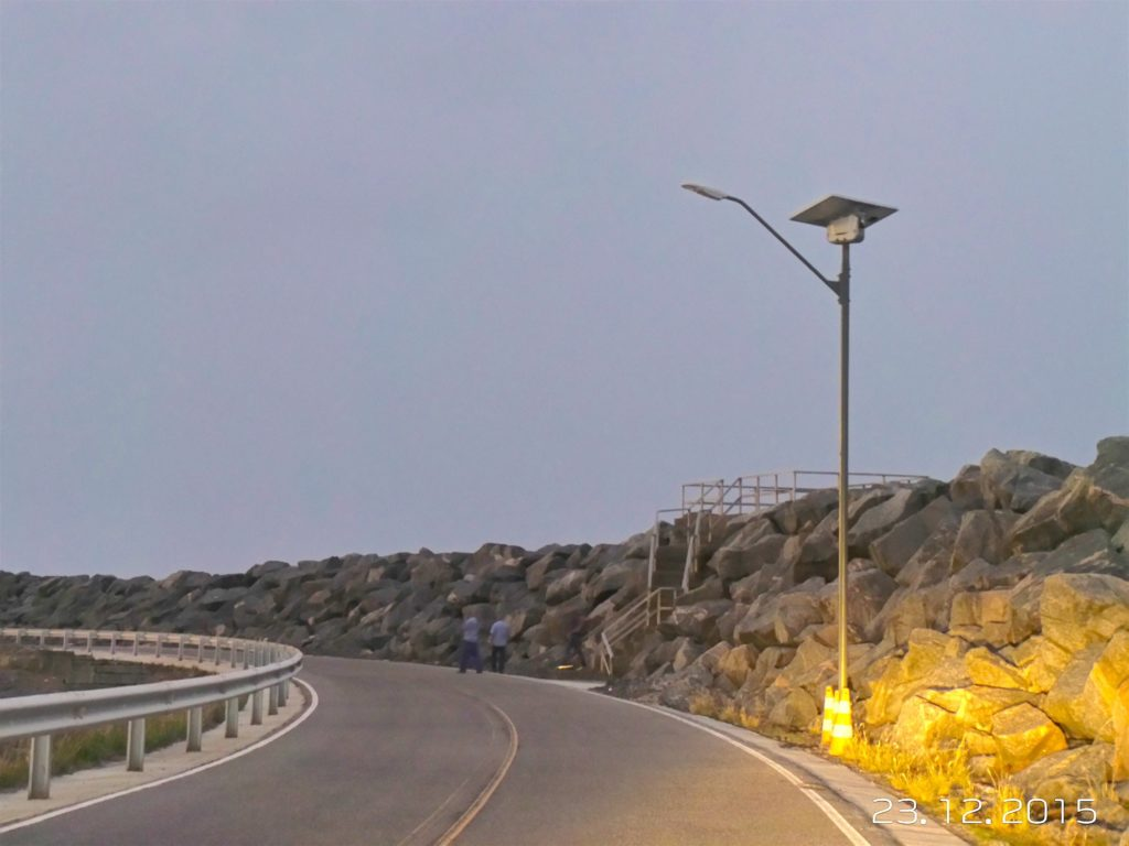 Suape Harbor solar lighting system