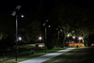 Wray Colorado solar pathway lighting