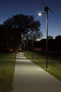 Wray Colorado solar pathway lighting