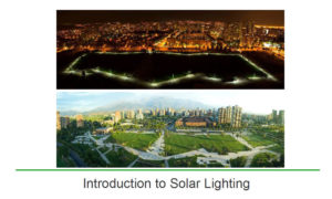 AEC Daily commercial solar outdoor lighting system course intro