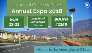 Visit Sol at League of California Cities Expo graphic