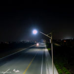 Solar street lighting, Beaumont, CA