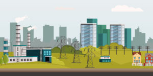 Own your light and the power utility grid infographic
