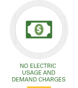 Icon, no electric usage and demand charges