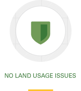 Icon, no land usage issues