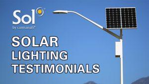 Sol Solar Lighting Testimonials