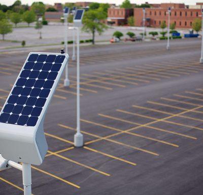 Led Parking Lot Lights Commercial Outdoor Lighting Solar