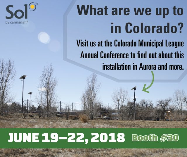 Sol is at CML June 19-22, 2018. Visit us at booth 30!