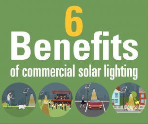 6 benefits of commercial solar lighting