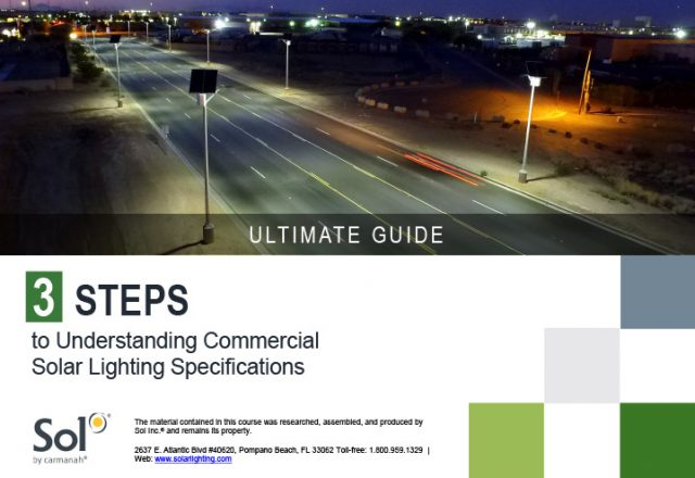 sol ultimate solar lighting specification guide cover thumbnail