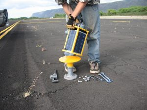 Carmanah makes all types of solar backup and safety lighting solutions, including airfield lights