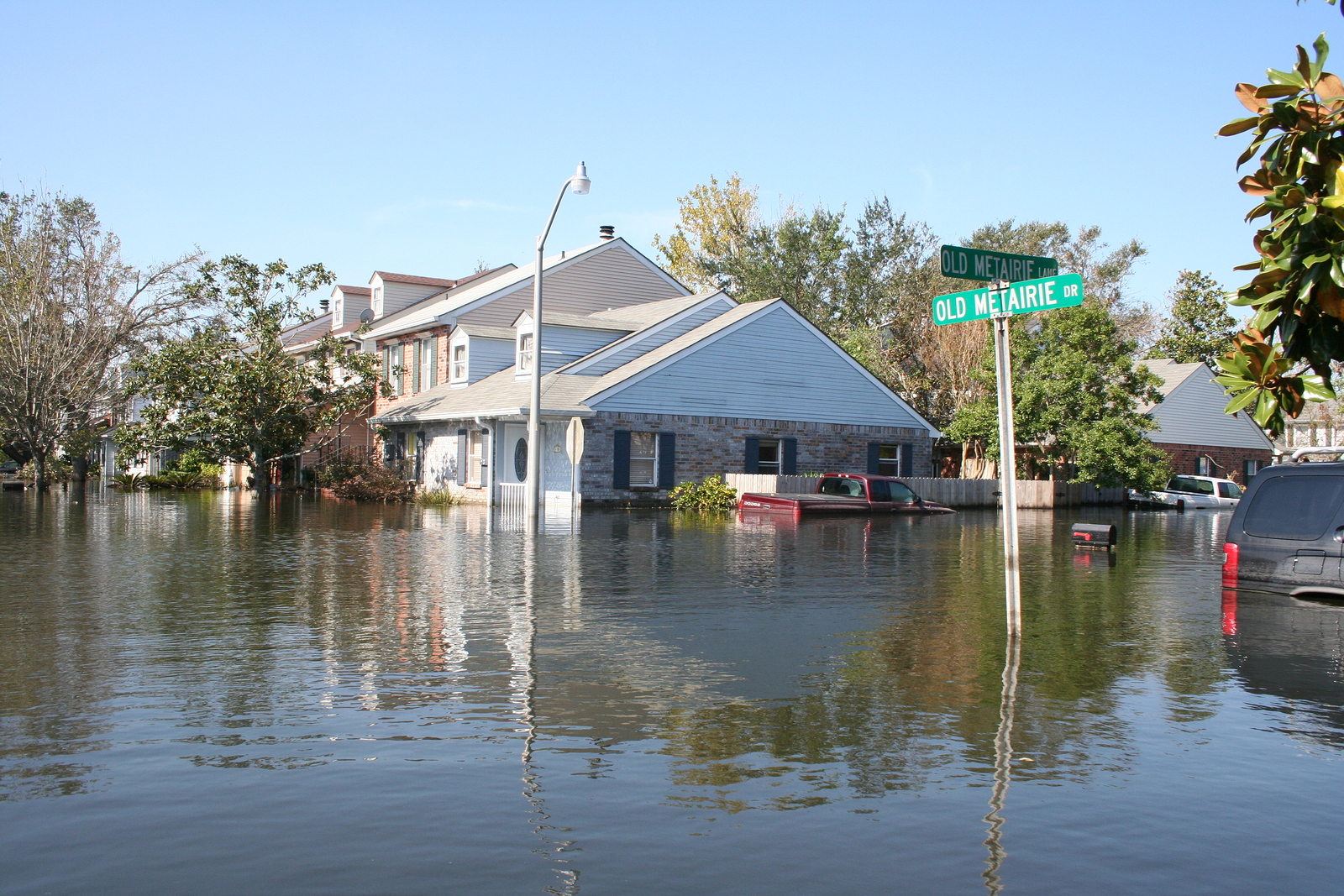 Solar Backup and Safety Lighting Solutions can help during disasters like flooding.