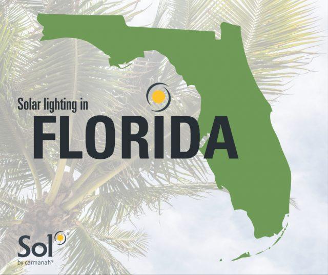 Solar lighting in Florida