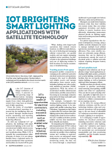 Electrical Business Magazine January 2018 IoT article
