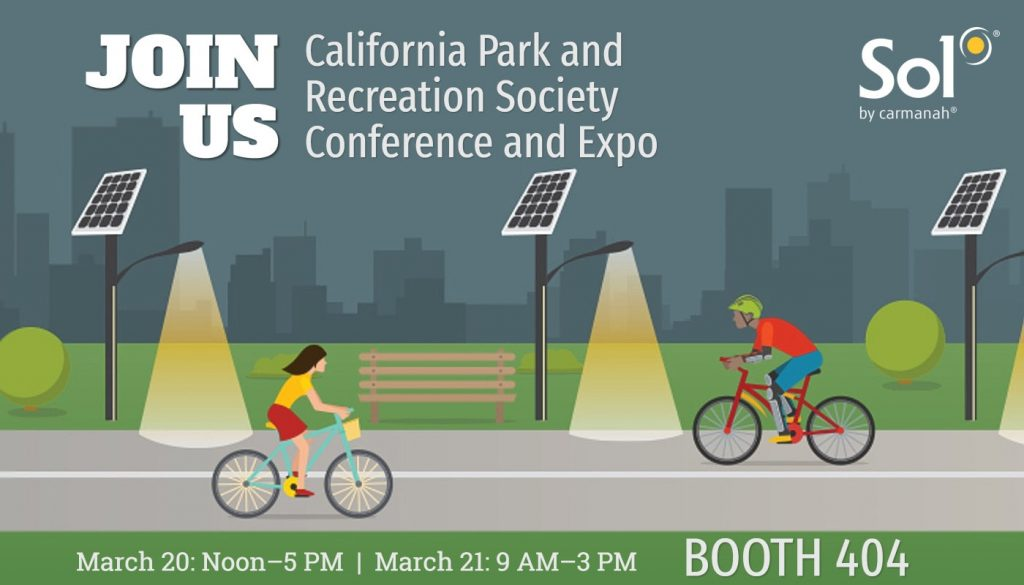 sol attends 2019 california park and recreation society expo