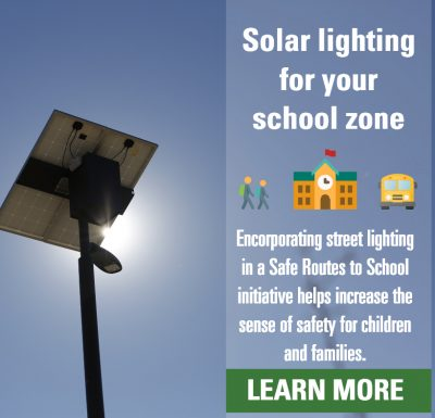 Incorporating Street Lighting In A Safe Routes To School Initiative