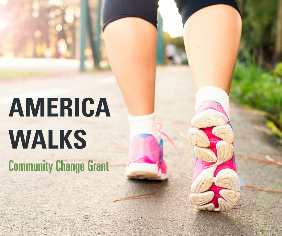America Walks Community Change Grants