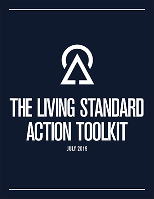 us green building council's living standard action toolkit cover