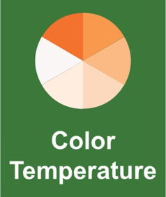 commercial solar lighting question 7, ask about the light color temperature